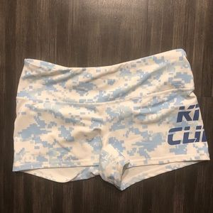 White/Blue Kill Cliff shorts size small